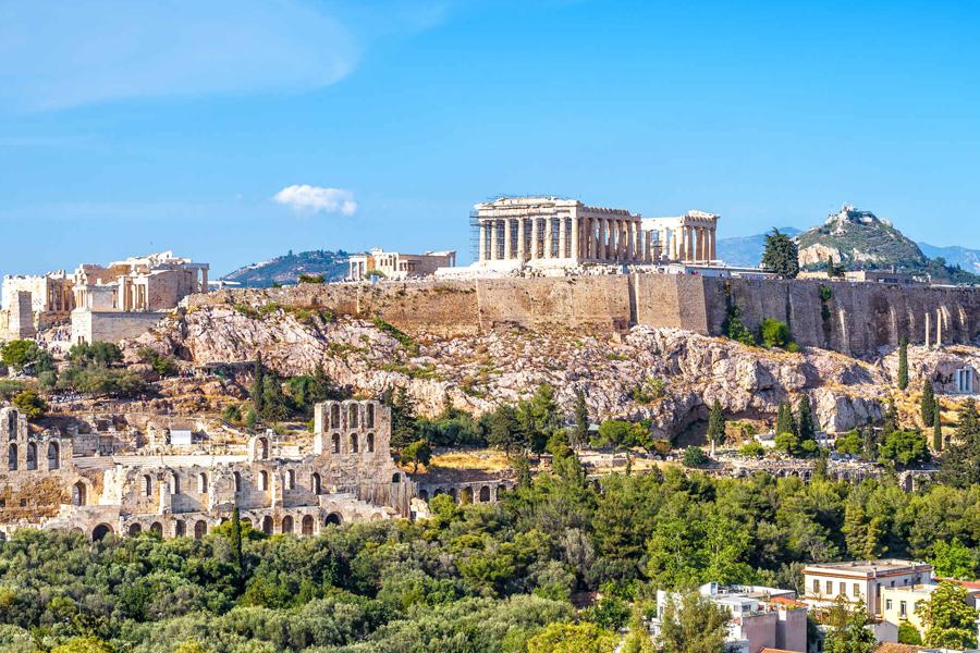 Atenas, Mykonos e Santorini de Lisboa