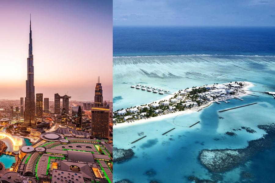 Dubai e Maldivas com Hotéis RIU
