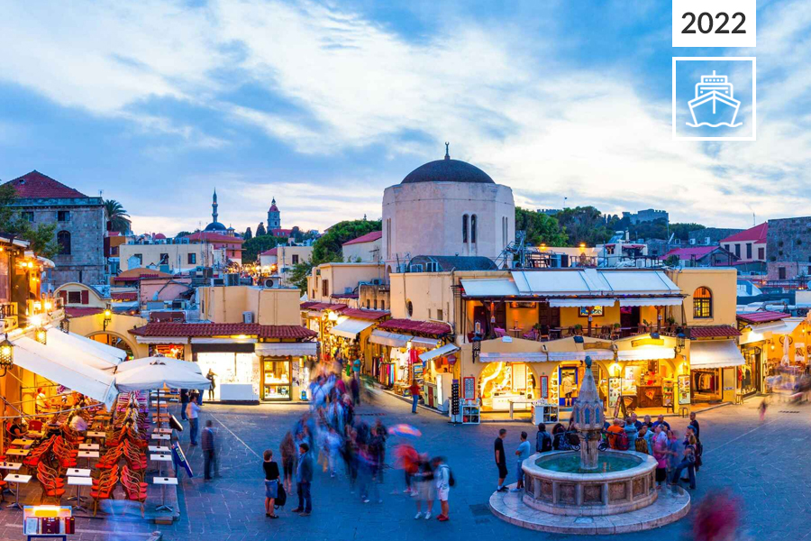 Atenas e Cruzeiro Egeu Icónico de 4 noites