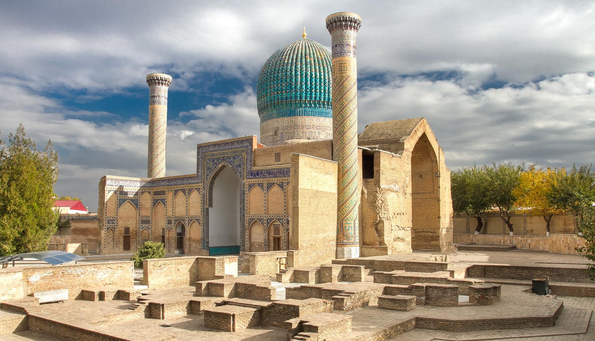 Tesouros do Uzbequistão