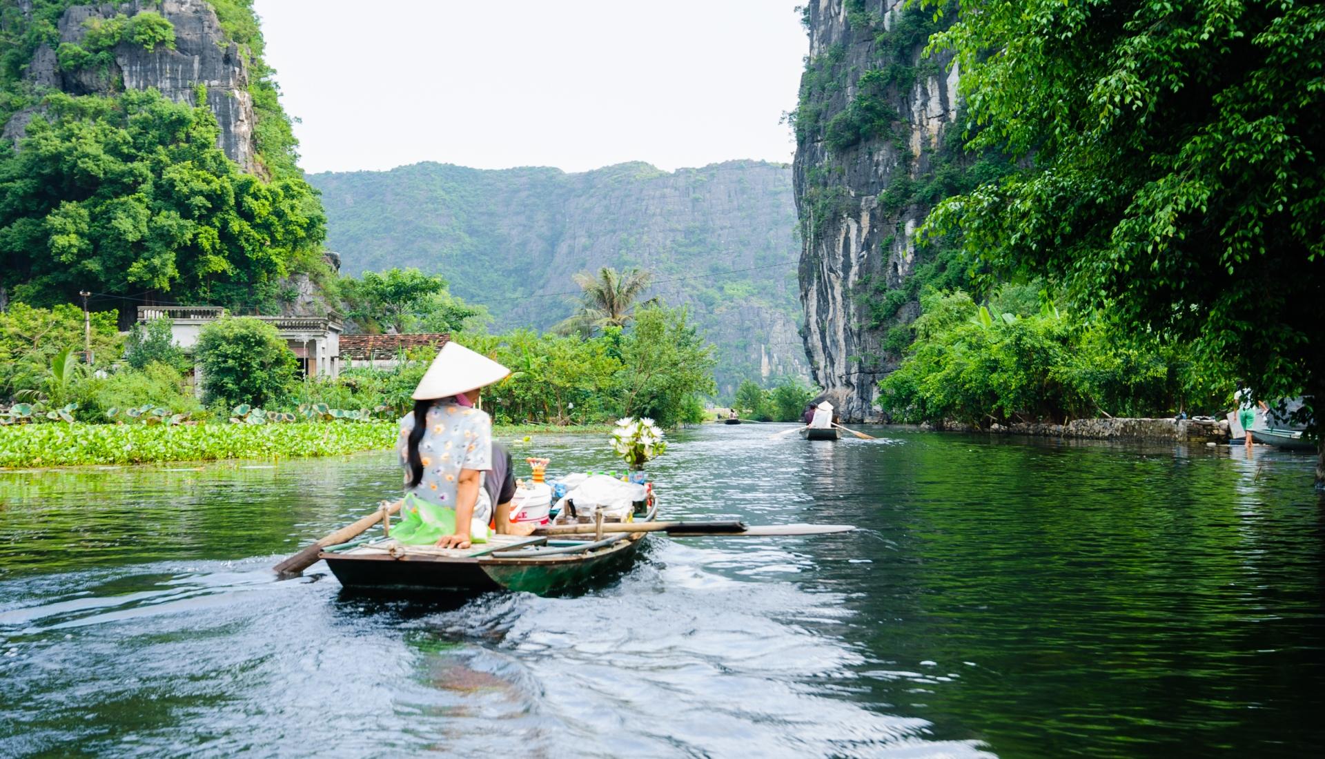 Contrastes do Vietname