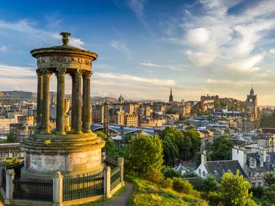 Toda a Escócia e Inglaterra