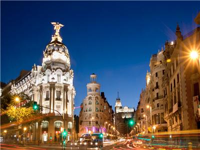 Lisboa, Madri, Paris e Países Baixos (Madri/Ams + Ext. Reno)