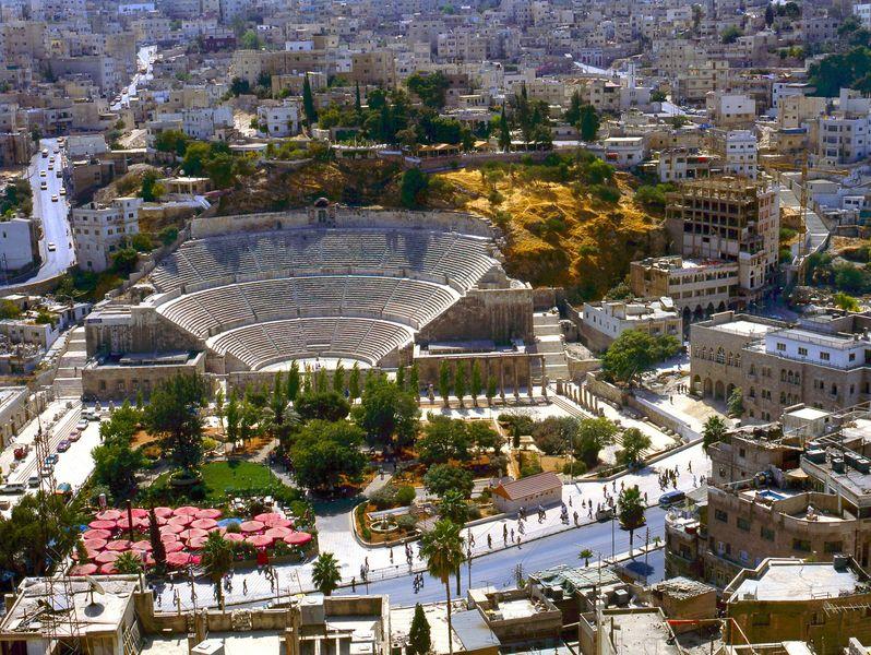Israel e Jordânia (Termino na Jordânia)