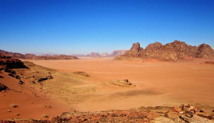Israel e Jordânia com Wadi Rum