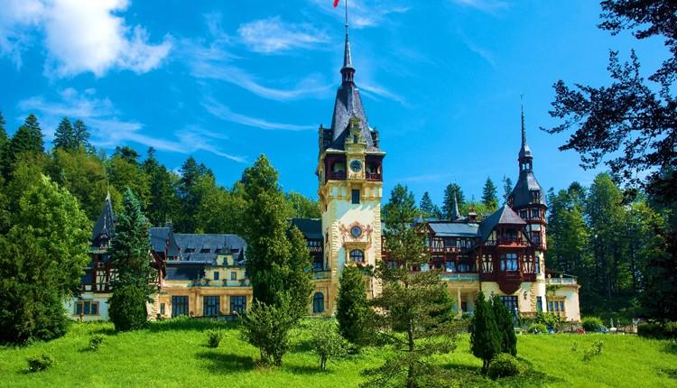 Roménia - Castelos da Transilvânia (Blue Air)