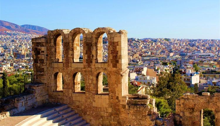 Escapada a Atenas (voos diurnos)