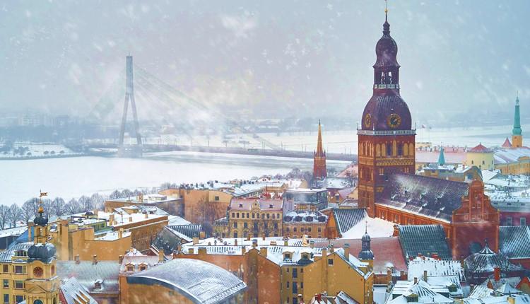 Fim de Ano em Riga