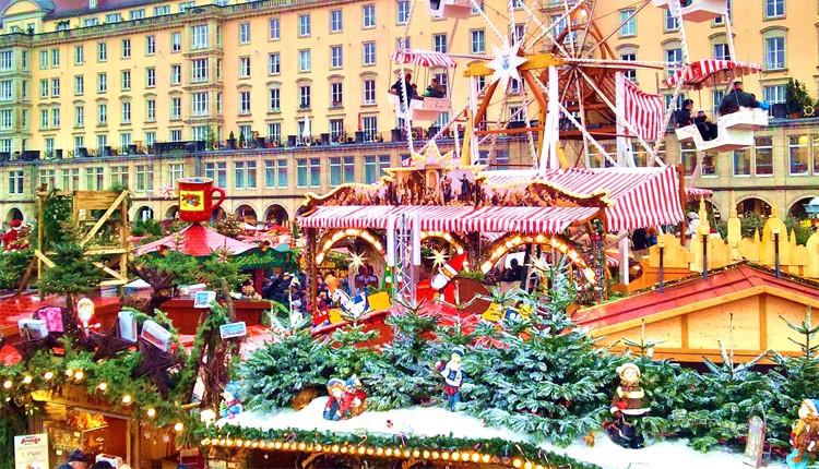 Mercados de Natal - Berlim e Dresden
