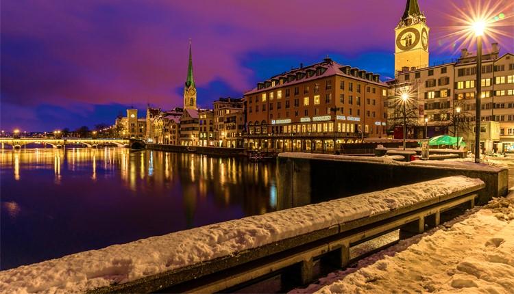 Mercados de Natal - Zurique