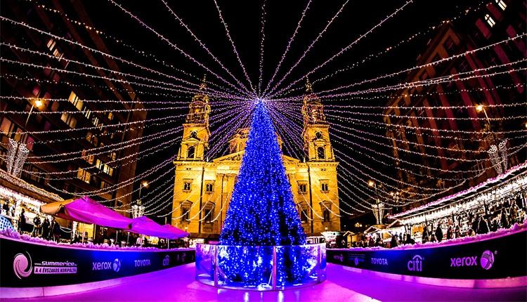 Mercados de Natal - Budapeste